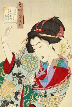 Tsukioka Yoshitoshi (1839-1892)   月岡芳年