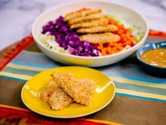Food network recipes 344032859037617242 - Get Oven Fried Coconut Chicken with Mango Dipping Sauce Recipe from Food Network Source by Best Baked Chicken Recipe, Easy Chicken Dinner Recipes, Turkey Recipes, Turkey Dishes, Kitchen Recipes, Cooking Recipes, Healthy Recipes, Healthy Food, Flour Recipes