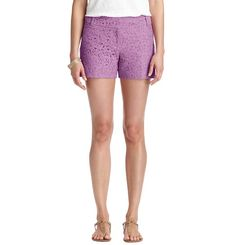 Purple lace shorts from The Loft. These are my FAVORITES.