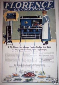 Florence Oil Cook Stove (1917).