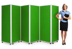 Mobile Concertina Screens by XLDisplays UK from only 271 http