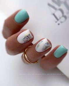 Cute Nails, Nail Art, Green Nail, Beauty, Dali, Shellac, Eyeshadow Makeup, Outfits, Bling Nails