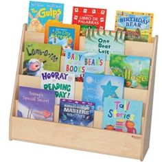 storage furniture sided book bookcase trays for double tiered unit classroom with bookshelf bookcases