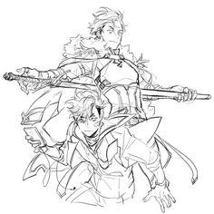 43 則未讀訊息 - 想瘦下來的A醬 (little_A78) 在噗浪 - Plurk Character Sketches, Character Design References, Character Concept, Art Sketches, Character Art, Concept Art, Art Drawings, Reference Manga, Anime Poses Reference