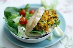 Weight Watchers Halloumi Burgers - healthy, vegetarian, and delicious :)