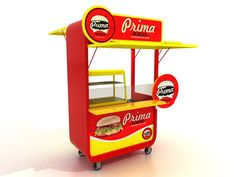 Booth Outdoor Source by zqualo… Food Cart Design, Food Truck Design, Pos Design, Stand Design, Empanadas, Cafe Branding, Lifebuoy, Pos Display, Food Stands