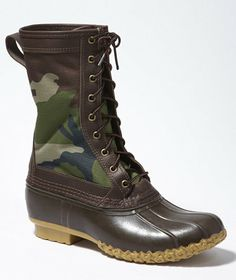 """Men's Camo Maine Hunting Shoe, 11"""": FOOTWEAR 