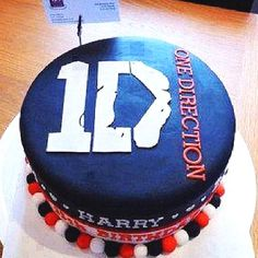 One direction birthday cake #want