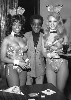 Sammy Davis, Jr. / at Playboy'sMiami Plaza Club, Hotel, & Resort, 1971.