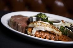 Serving quality steakhouse fare to stars, starlets and San Diegans since 1940. Enjoy $40 at Cafe La Maze for just $20 with today's deal. Valid toward all menu items, including their famous prime rib, and wines and spirits, at dinner.