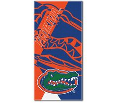 University of Florida Gators Beach Towel 34 x 72 Beach Blanket Fla Gators, Florida Gators College, Florida Gators Football, University Of Florida, Decorative Towels, Oversized Beach Towels, Auburn Tigers, Bath Linens, School Colors