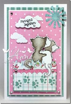 Anything Goes Challenge… Valley Cats, August Challenge, Lily Of The Valley, Cardmaking, Challenges, Fairy, Cards, Fun, Blog