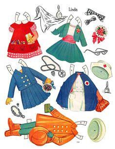Paper Dolls~Little Models - Bonnie Jones - Álbumes web de Picasa