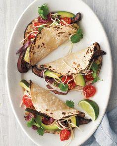 Portobello-Zucchini Tacos - qué deliciiiiiiia!!!