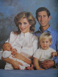 Charles & Diana & William & Harry.She was taken way to soon.Please check out my website thanks. www.photopix.co.nz