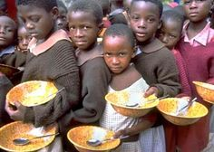 Malnutrition can mean eating too much of the wrong thing or too little of the right stuff — thus it's a global health issue.