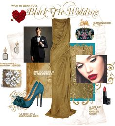 """What to Wear to a Black Tie Wedding"" by dessaleaproductions on Polyvore"