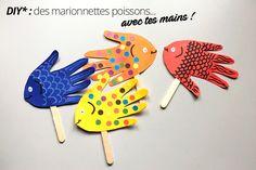 DIY : fabriquer des marionnettes poisson avec ses enfants - Auchan et Moi