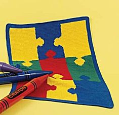 Image of Jigsaw Puzzle Afghan