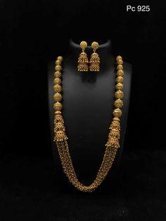 Gold Jewelry For Sale Info: 8355934003 Jewelry Design Earrings, Gold Earrings Designs, Necklace Designs, Beaded Jewelry Designs, Stud Earrings, Gold Wedding Jewelry, Gold Jewelry, Dainty Jewelry, High Jewelry