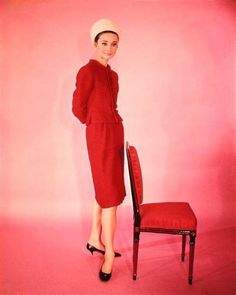 "Audrey Hepburn for ""Charade"" (1961)"