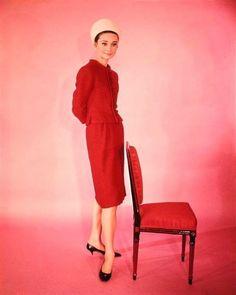 "Audrey Hepburn for ""Charade"" (1961)"