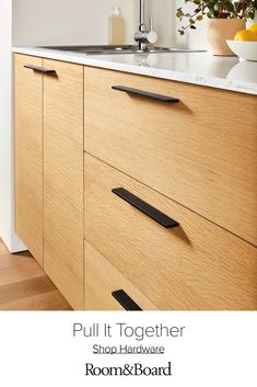 Take your kitchen or bathroom cabinets to a whole new level with modern cabinet hardware. Plus, enjoy free UPS shipping. Kitchen Cabinet Hardware, Modern Kitchen Cabinets, Kitchen Handles, Kitchen Reno, Scandinavian Kitchen Cabinets, Kitchen Knobs And Pulls, Ikea Kitchen Remodel, Cupboard Handles, Kitchen Cupboard