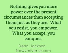 Acceptance and Power