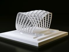 #3d #Printed Architectural model. Start making your own 3d prototype now at: http://www.mylocal3dprinting.com. #3dPrintingArchitecture