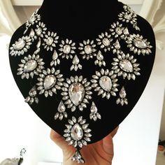 Statement necklace #tajdesign