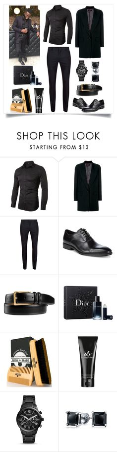 """""""Daniel 🖤🖤🖤"""" by mz-maumau ❤ liked on Polyvore featuring Isabel Marant, Topman, Kenneth Cole, Johnston & Murphy, Christian Dior, Burberry, FOSSIL, Bling Jewelry, men's fashion and menswear"""