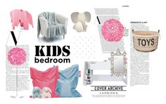 """Kids Bedroom"" by isabelle96-1 on Polyvore featuring interior, interiors, interior design, home, home decor, interior decorating, South Shore, Fatboy, Worlds Away and Aidan Gray"
