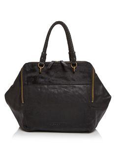 72d7ee5f83 Liebeskind Kayla Calf Hair Satchel Handbags - Bloomingdale s