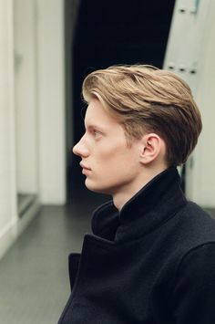 MEN'S SPRING 2014 - Margaret Howell. Definitive English schoolboy hair. // Hair idea, just in case he insists on cutting it.