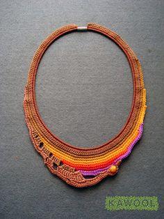 Crochet Necklace Kawool