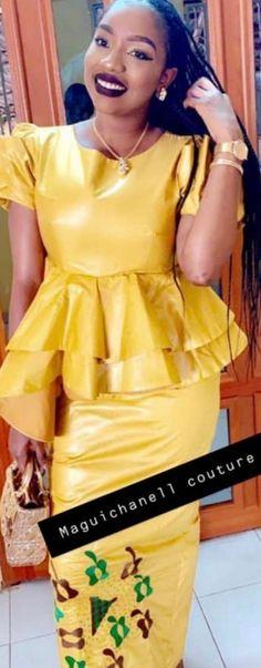 African Fashion, Bass, Peplum Dress, Chic, Modern, Top, Dresses, African Dress, Human Height