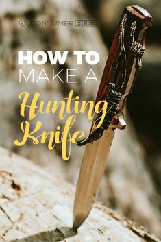 Want to learn how to make your own hunting knife? There are many options available, both in materials and methods. Check out this post to see a step-by-step guide on how to make a hunting knife.