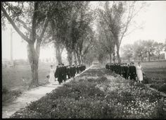 Graduation. 1914 - 1918. UHPC, University Archive, Archives and Special Collections, CSU, Fort Collins, CO