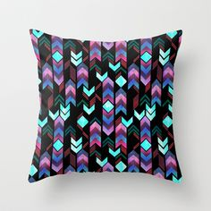 Montauk Native Throw Pillow by Schatzi Brown - $20.00