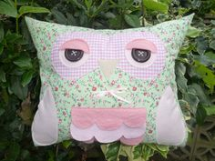 Owl cushions.