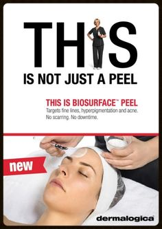 Think your skin is in need of a pre-summer spruce up? Check out Dermalogica's new BioSurface Peel Treatment at Nu-Yu Tel: 0796877150 @Dermalogica_UK1