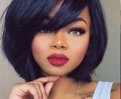 natural wavy haircuts 23 pretty hairstyles for black 2018 5442 | 5bf5442a2ce78e97ca50b1a49910a977 short hairstyles for women hairstyle for women
