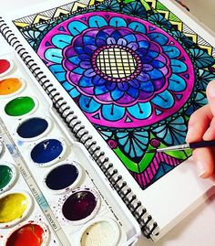 Adult Coloring Book by PaisleyandHazel on Etsy