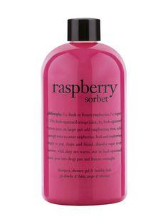 Bath Raspberry Sorbet 3-in-1 Shower Gel -suihkutuote 480 ml