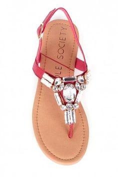 Angelin Bejeweled Sandal