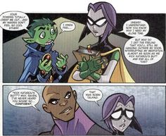 scans_daily | The Teen Titans Go! team mix it up a bit...