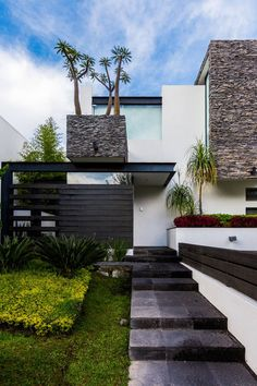 Ingreso : Casas modernas de aaestudio