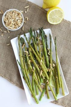 This healthy and delicious lemon ginger asparagus with toasted almonds is not only perfect for spring but is a recipe that your entire family will enjoy and is meal prep friendly! Believe me this is one you are going to want to try out tonight.