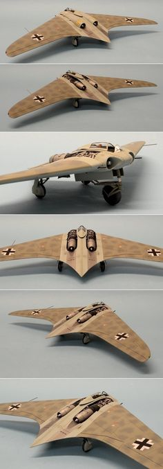 Dragon 1/48 Horten Ho-229 flying wing. http://www.network54.com/Forum/47751/message/1439982694/Horten+Ho-229