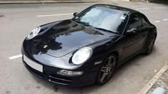 2008 #Porsche 911 997 #Carrera 4 #C4 (Code 1793) 2 owners 3600cc.Automatic.Please call us to So Ming 66944888 / Winnie Ho 60338662. Like our fanpage. Thanks. www.facebook.com/MYmotors #cars #Black #HongKong